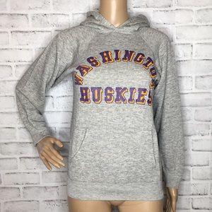 Vintage Champion Washington Huskies hoodie S